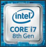 インテル®Core™ i7-8650U プロセッサー(1.9-4.2GHz)