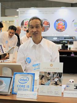 日本HP サービス・ソリューション事業本部 クライアントソリューション本部 ソリューション営業部 ビジネスデベロップメントマネージャー 浦野敏明氏
